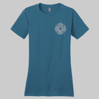 Volunteer For Life -  - Ladies Premium Crew T