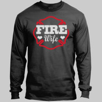 Fire Wife Glitter Long Sleeve