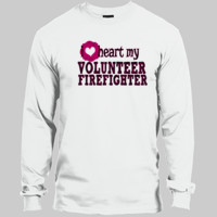 Heart My Volunteer - Adult Beefy LS T