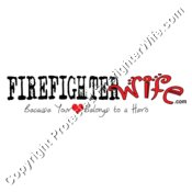 Official FirefighterWife.com Logo for Light Background