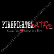 Official FirefighterWife.com Logo - for Dark Background