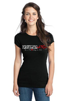 FireFighter Wife Juniors Slimfit Tee