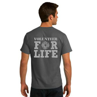 Volunteer For Life -  - Copy of Adult Premium T